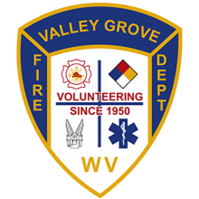 Valley Grove Volunteer Fire Department logo