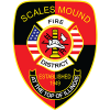 Scales Mound Fire Department logo